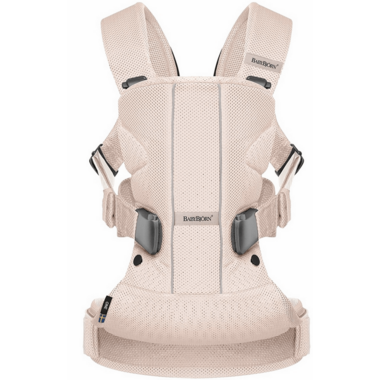 BabyBjorn Baby Carrier One Air Powder Pink Mesh