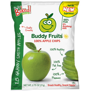 Buddy Fruits 100% Granny Smith Apple Chips