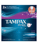 Tampax Pearl Tampons Ultra
