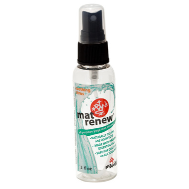 Manduka Mat Cleaner Renew Spray Travel Citrus
