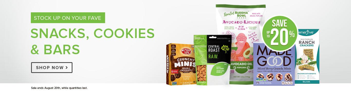 Save on Snacks Cookies & Bars