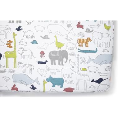 Petit Pehr Noah\'s Ark Crib Sheet