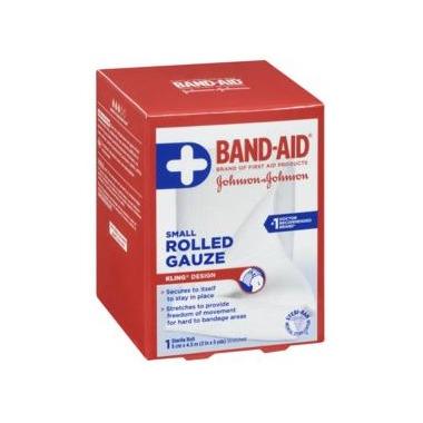 Johnson & Johnson First Aid Rolled Gauze