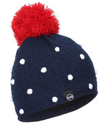 Kombi The Micro Dot Junior Hat Black Iris Micro Dot