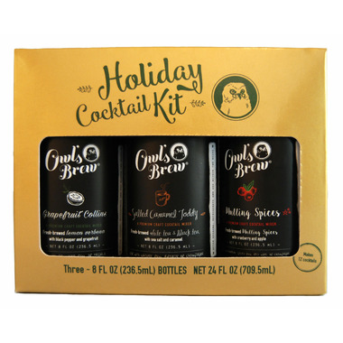 Owl\'s Brew Holiday Cocktail Kit