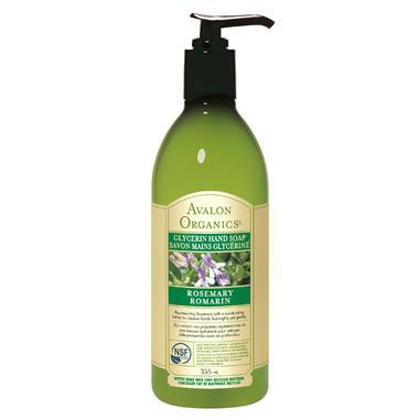 Avalon Organics Rosemary Glycerin Liquid Hand Soap