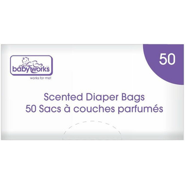 Baby Works Disposable Scented Diaper Bags