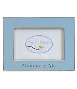 Child to Cherish Mommy & Me Metal Picture Frame Blue