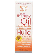 Herbal Glo Skin Therapy Oil for Scars, Dry Skin & Stretch Marks