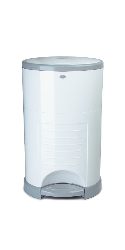 Buy dekor mini diaper pail white at free for Dekor mini diaper pail