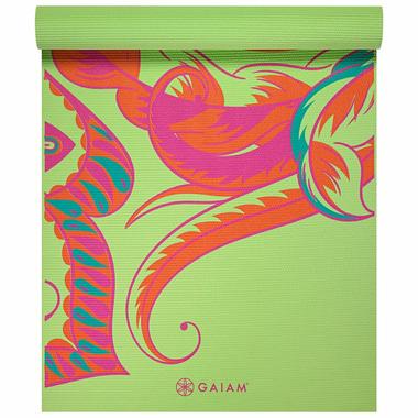 Gaiam Printed Yoga Mat 4 mm Vibrant Paisley