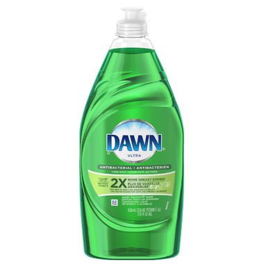 Dawn Ultra Antibacterial Dish Washing Liquid Apple Blossom Scent