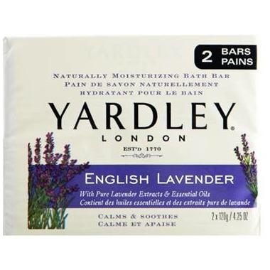 Yardley English Lavender Naturally Moisturizing Botanical Soap