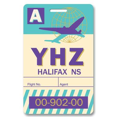 Smitten Kitten Halifax Luggage Tag