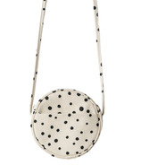 Baggu Canvas Circle Purse Paint Dot