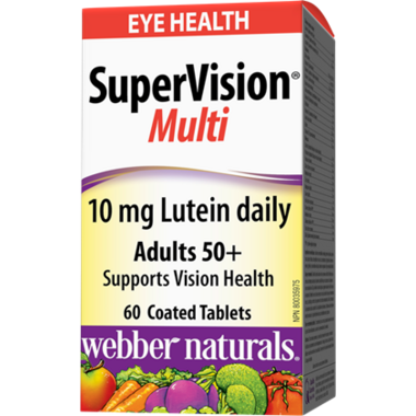 Webber Naturals SuperVision Multi With Lutein