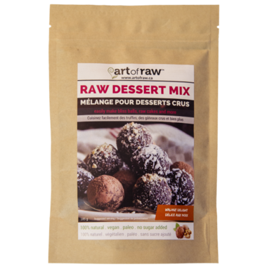 Art of Raw Walnut Delight Raw Dessert Mix