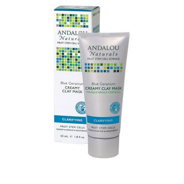 Andalou Naturals Blue Geranium Creamy Clay Mask