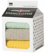 Now Designs Milk Carton Dishcloths Zest, Cloud & Jade