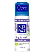 Kiss My Face Liquid Rock Roll-On-Lavender