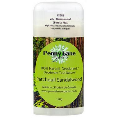 Penny Lane Organics Natural Deodorant Patchouli Sandalwood