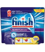 Finish Quantum Max Shine & Protect Dishwasher Tablets Lemon