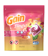 Gain Flings! Tropical Sunrise 3-in-1 Laundry Pacs with Oxi-Boost & Febreze