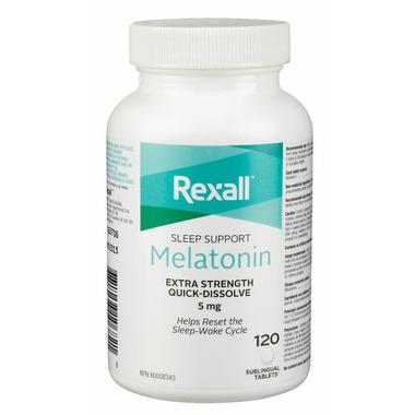 Rexall Extra Strength Melatonin Quick-Dissolve Sleeping Aid