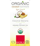 Radius Organic Children's Coconut Toothpaste