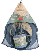 EcoSouLife Biodegradable Bamboo Camper Set in Grey