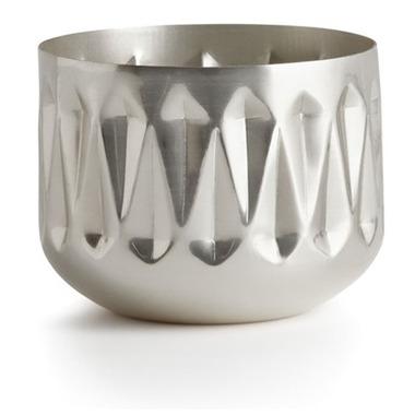Illume Balsam & Cedar Medium Radiant Metal Candle