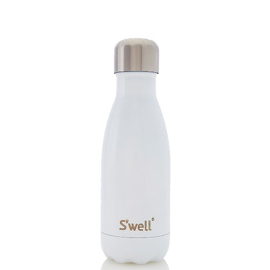 S\'well Shimmer Collection Stainless Steel Water Bottle Angel Food