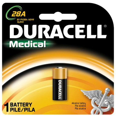Duracell Alkaline 28A Medical Battery