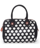 Built Uptown Lunch Tote Big Dot Black & White