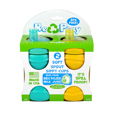 Re-Play Soft Spout Cup Aqua and Green