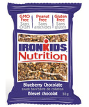 IronKids Blueberry Chocolate Snack Bar