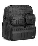 Lug Puddle Jumper Overnight / Gym Bag Midnight Black