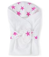 Aden + Anais Baby Bath Wrap Fluro Pink
