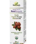New Roots Herbal Certified Organic Rosa Mosqueta Seed Oil (Rosehip)