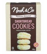 Nosh & Co. Premium Artisanal Butter Shortbread Cookies