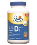 Swiss Natural Kids' Chewable Vitamin D3 600 IU