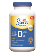 Swiss Natural Kids' Chewable Vitamin D3 600 IU