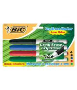 Bic Velleda Grip Great Dry-Erase Whiteboard Markers