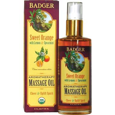 Badger Aromatherapy Massage Oil