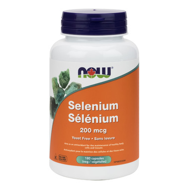 NOW Foods Yeast Free Selenium