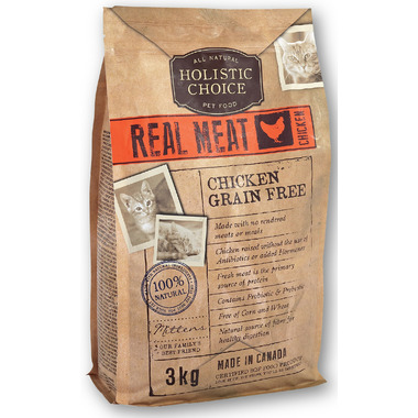 Holistic Choice Real Meat Chicken Grain Free Cat Food