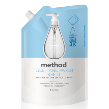 Method Gel Hand Wash Refill Sweet Water
