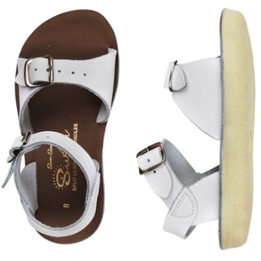 Salt Water Sandal Surfer Children\'s Sandal White