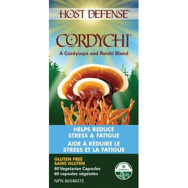 Host Defense Cordychi Capsules (Reishi & Cordyceps)