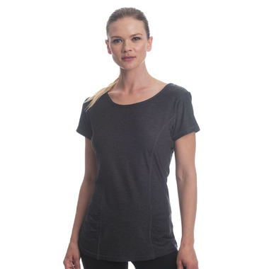 Gaiam Energy Tee Charcoal Heather